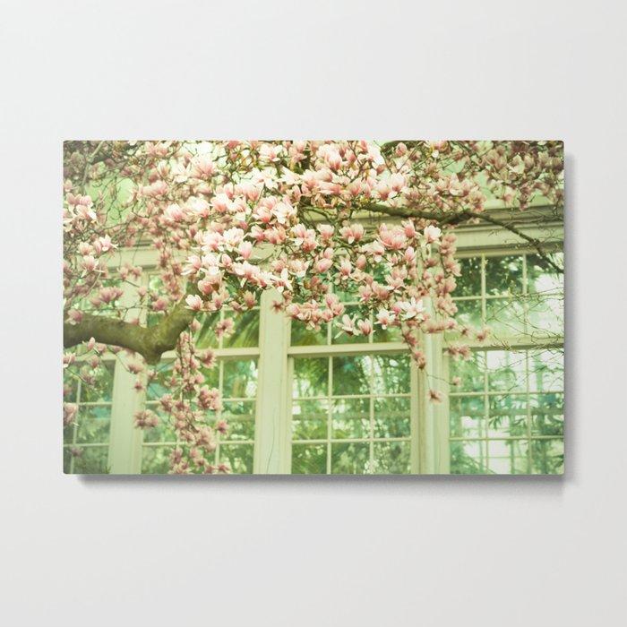 Rear Window Metal Print