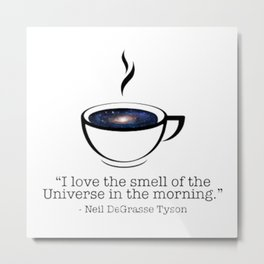Smell Of The Universe Metal Print