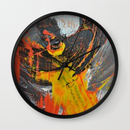 Motion in Abstraction Wall Clock