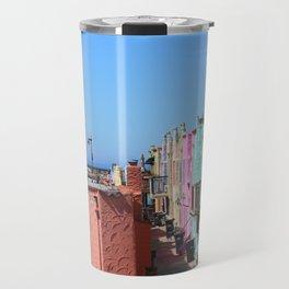 Colorful Capitola Houses Travel Mug
