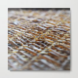 Net work Metal Print