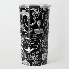 Arabian Nights // Black Travel Mug
