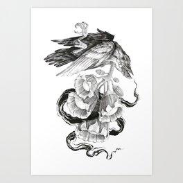 Soul of a Raven Art Print