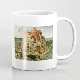 The Tower of Babel 1563 Coffee Mug