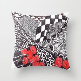 Zen Doodle Graphics zz20 Throw Pillow