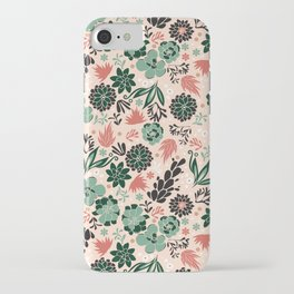 Succulent flowerbed iPhone Case