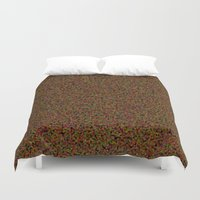 brown Duvet Covers featuring brown by ecceGRECO