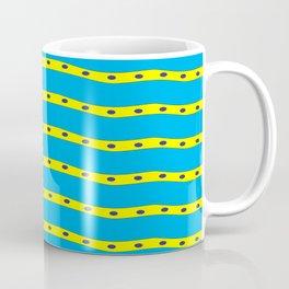 Coastal Pattern On the Beach Coffee Mug