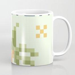 8Bit Palm Tree Coffee Mug