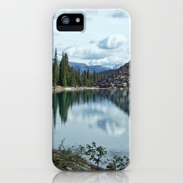 Moraine Lake Alberta iPhone Case