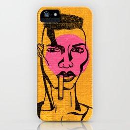 grace jones. iPhone Case