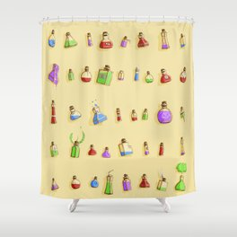 Potions! Shower Curtain