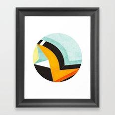 Right Light Framed Art Print