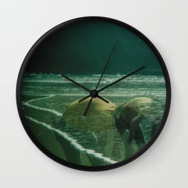 Beach Trip Wall Clock