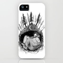 hibernate with me iPhone Case