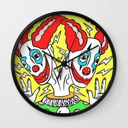 Two Headed Clown/Clown Oddity Wall Clock