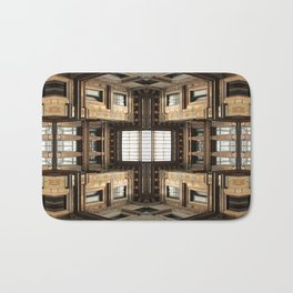 Architectural Labyrinth Bath Mat