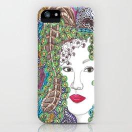 Big Beautiful Hair Color iPhone Case