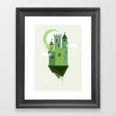 Sky Castle 2 Framed Art Print