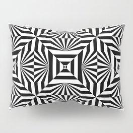 Op art trippy pattern Pillow Sham