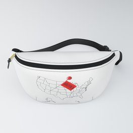 Knob Pin New Arizona Fanny Pack