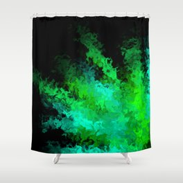 fiery marble 017 Shower Curtain