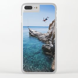 Freefall Clear iPhone Case