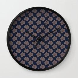 Dazzled Wall Clock