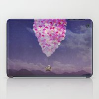 never stop exploring iPad Cases featuring NEVER STOP EXPLORING IV by Monika Strigel
