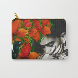 Tribute to Frida Kahlo #40 Carry-All Pouch