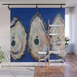 Impressionistic Oyster #3 - Three Oyster Amigos Wall Mural