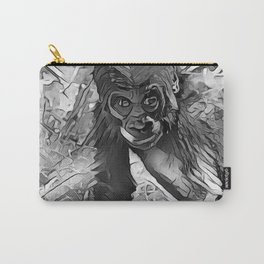 AnimalArtBW_Gorilla_20170607_by_JAMColorsSpecial Carry-All Pouch
