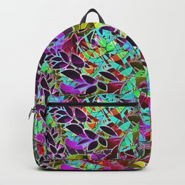 Floral Abstract Artwork G128 Backpack