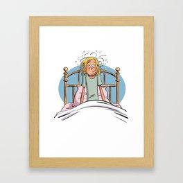 Tête matinale Framed Art Print