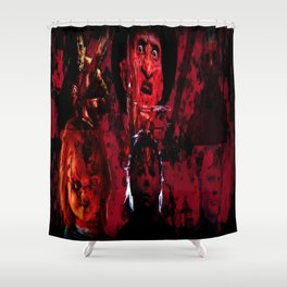 Masters Of All Horrors Shower Curtain