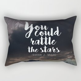 You could rattle the stars (stag included) Rectangular Pillow