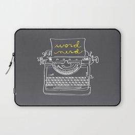Word Nerd Laptop Sleeve