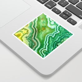 Green Onyx Marble Sticker