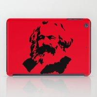 marx iPad Cases featuring Marx by muffa