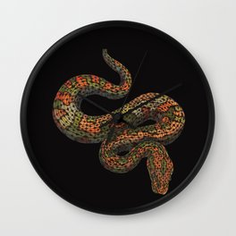 Snarly Snake Wall Clock