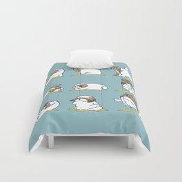 Shih Tzu Yoga Comforters