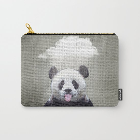 Panda Rain Carry-All Pouch