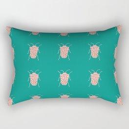 arthropod teal Rectangular Pillow