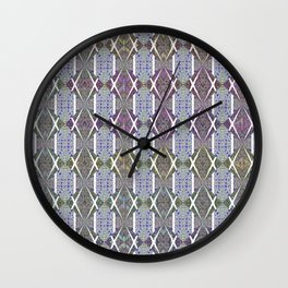 Wallpaper Inspirations - Sparkling Blues Wall Clock