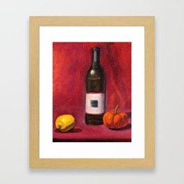 Still Life 006 Framed Art Print