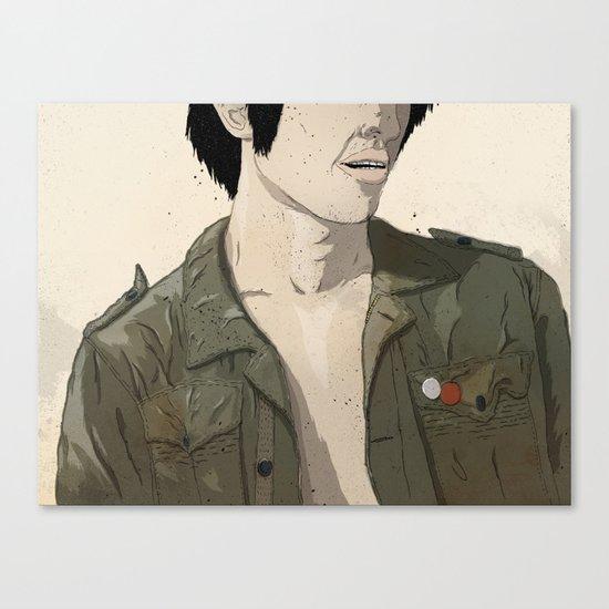 Smokey & the Jacket II Canvas Print