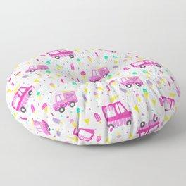 Ice Cream Party Floor Pillow