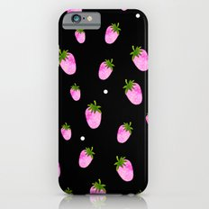 Strawberries and Dots iPhone 6s Slim Case