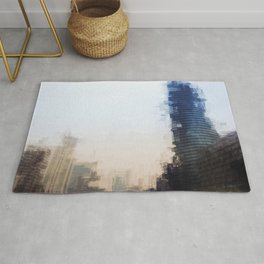 London Abstract Rug