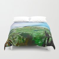hollywood Duvet Covers featuring Hollywood by James Peart